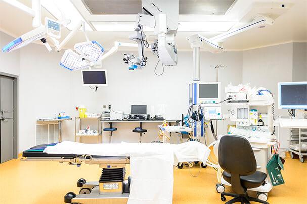 Operatieruimte van het St. Michiel Europaziekenhuis